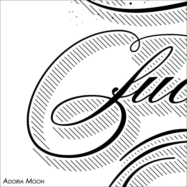 Little fucker poster detail - Adoria Moon