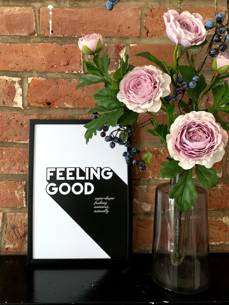 Feeling Good - Adoria Moon poster