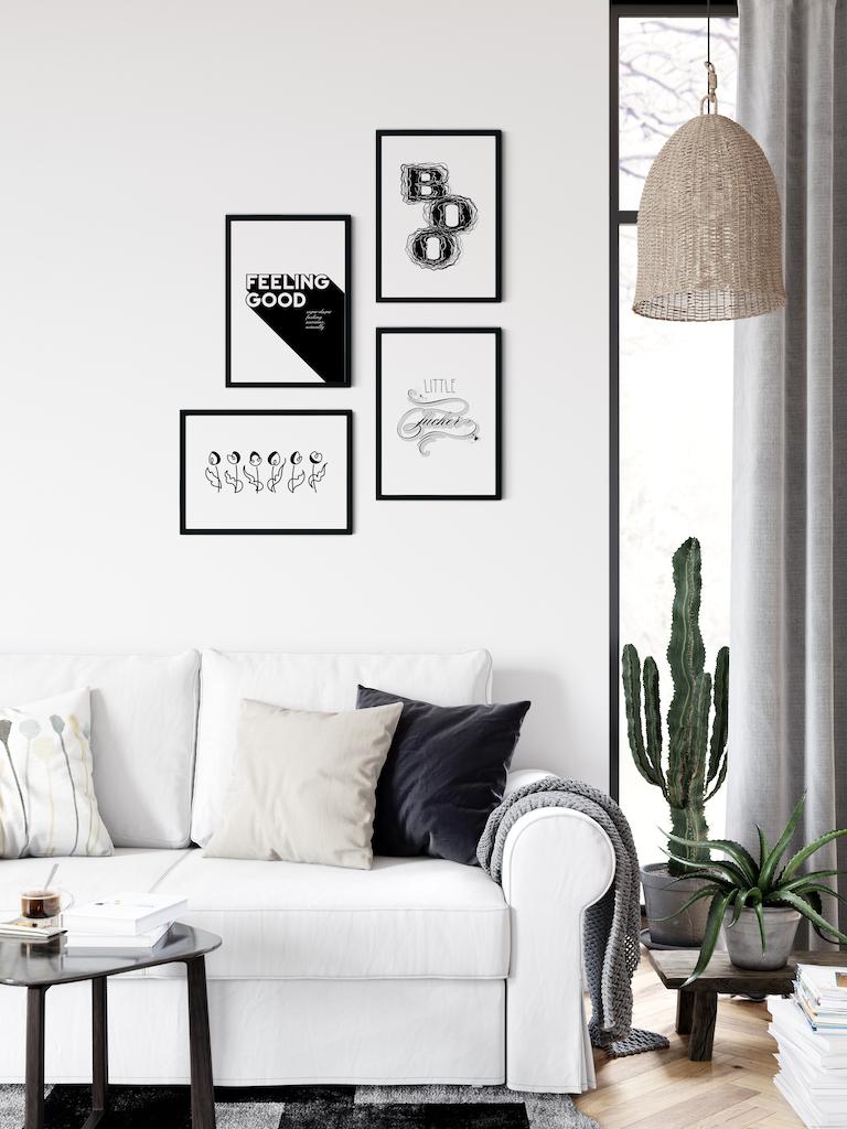 gallery arrangement - Adoria Moon posters
